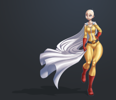 One Punch Ma'am by Zoy