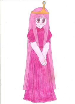 Princess Bubblegum by animequeen20012003