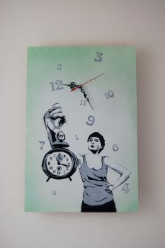 Time is Just a Number by HEGERART