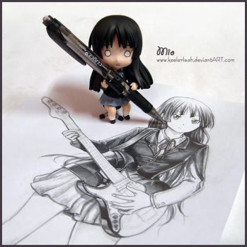 Mio Self Portrait: Caught in the Act by keelerleah