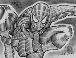 MARVEL: Silver Spiderman by BryanChalas