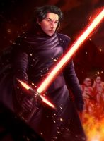 Kylo Ren by YogurtDollArt