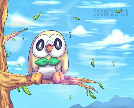 Rowlet Things~ by Ppoint555