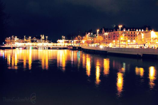 Zurich by night 1 by maiko-chan