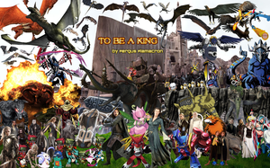 To Be A King Poster by Flamacron