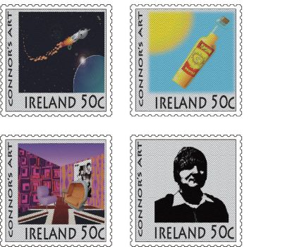 some stamps by aFriendlyHobo