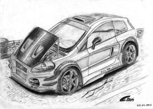 FIAT GRANDE Punto by bartu by can1996