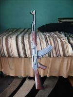 Ak-47 papercraft. by smilie5768
