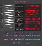 Basic Painting Brushes - Photoshop by Feohria