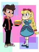 Bad Boy Marco And Princess Star by MarionetteJ2X