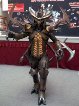 Diablo costume 80% by Clivelee