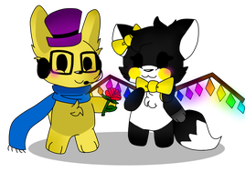 .:MonsterXNightmare FluffixFNaf91:. by Naxie1012