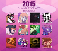|| Summary of Art ||2015|| by rooklinqs