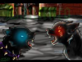scourge fight!,fight me! by danituco
