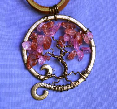 Cherry Tree Pendant by Shendorion