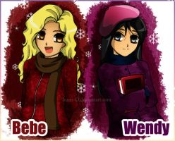 South Park:: Bebe and Wendy:: by Innerd