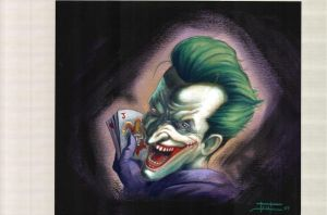 my joker by LucaStrati
