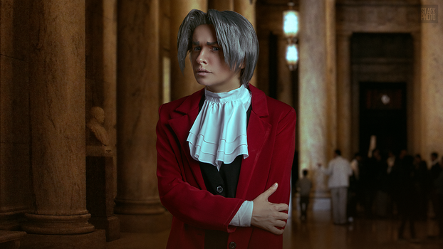 Miles Edgeworth cosplay [5/13] by Jehan-Lavellan