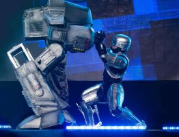 Ed-209 and Robocop Costumes- RCA I by SilviaArts