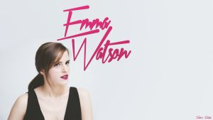 Emma Watson Wallpaper by SentonB