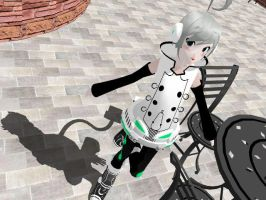 MMD Newcomer - Piko Utatane by Calculated-Lie