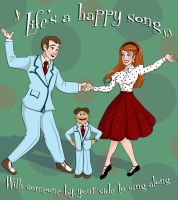 Life's a Happy Song by Bluesky55j