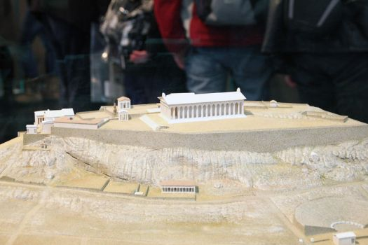 Acropolis in the 5th century BC by karantina7
