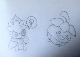 Fomantis and Bounsweet