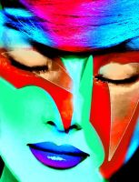Abstract-spatial makeup by YOKOKY