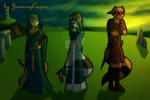 Sibling Thieves in Time - Celtic Scotland by JennissyCooper