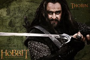 Thorin Oakenshield - The Hobbit by YoungPhoenix3191