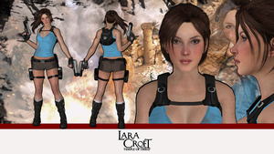 Lara Croft and the Temple of Osiris -model release by konradM96