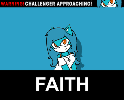 Warning New Challenger Approaching - Faith the Cat by Kevster823