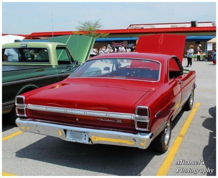 A Hot Red Ford Fairlane 500 by TheMan268