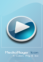 MediaPlayer Icon by mat-u