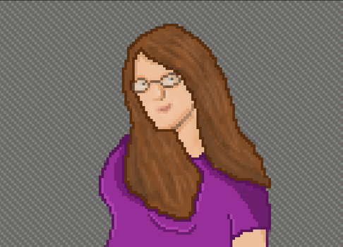 Pixel Art of Me by Terror-Inferno