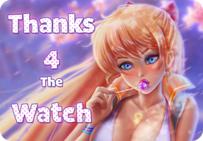 Thanks  4 the watch! by Prywinko