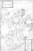 Batman Night Wing by caananwhite