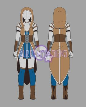 Clothing Adopt Auction: Fantasy Outfit 16 (CLOSED) by xDreamyDesigns