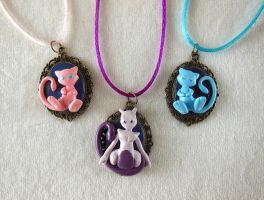 Mew, Shiny Mew and Mewtwo Cameo