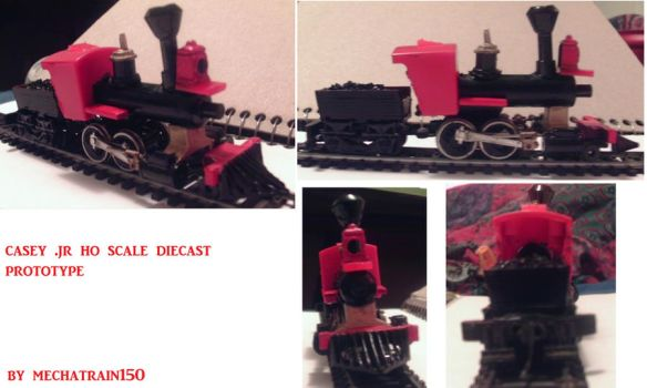 casey jr ho scale prototype. by mechatrain150