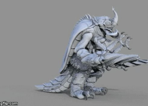 Megalon_.....almost.....done by Digiwip