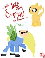 My Little Adventure Time by packAndwhite241993