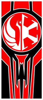 SW:TOR Knights of the Fallen Empire Alliance Flag by BeviinK
