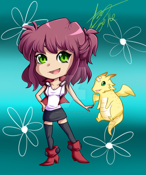 Haven Chibi by Ghost-Occult