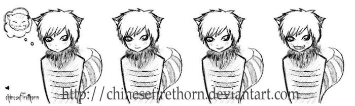 That Cheshire Smile... by chinesefirethorn