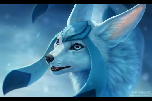 Glaceon by Chiakiro
