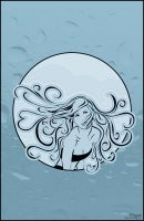 girl in a bubble by rivella
