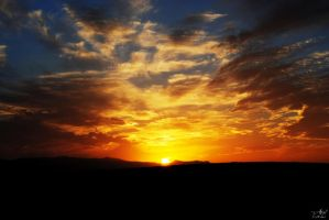 sunset by oadil
