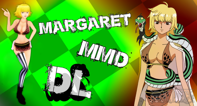 MMD One Piece Margaret v2 DL by Friends4Never